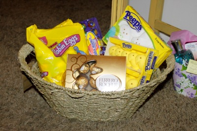 Adam's Easter Basket